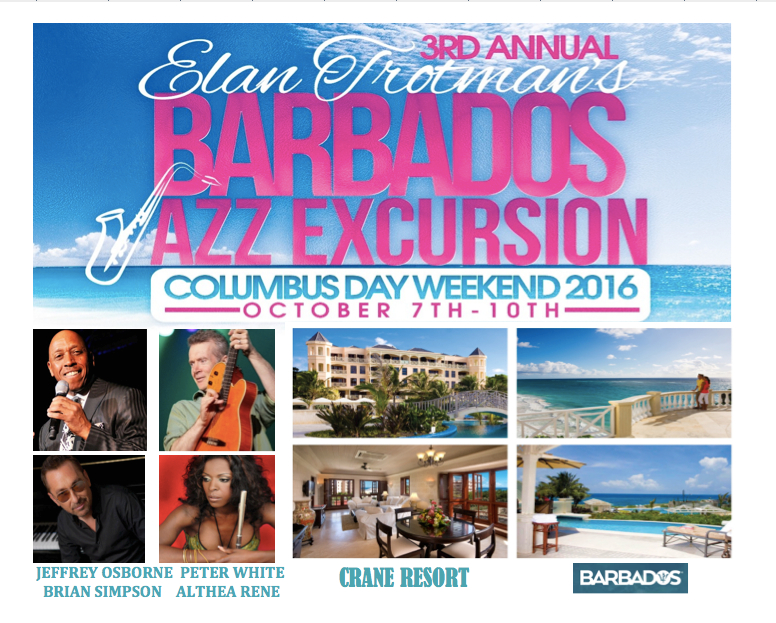 Barbados Jazz Excursion Banner 3