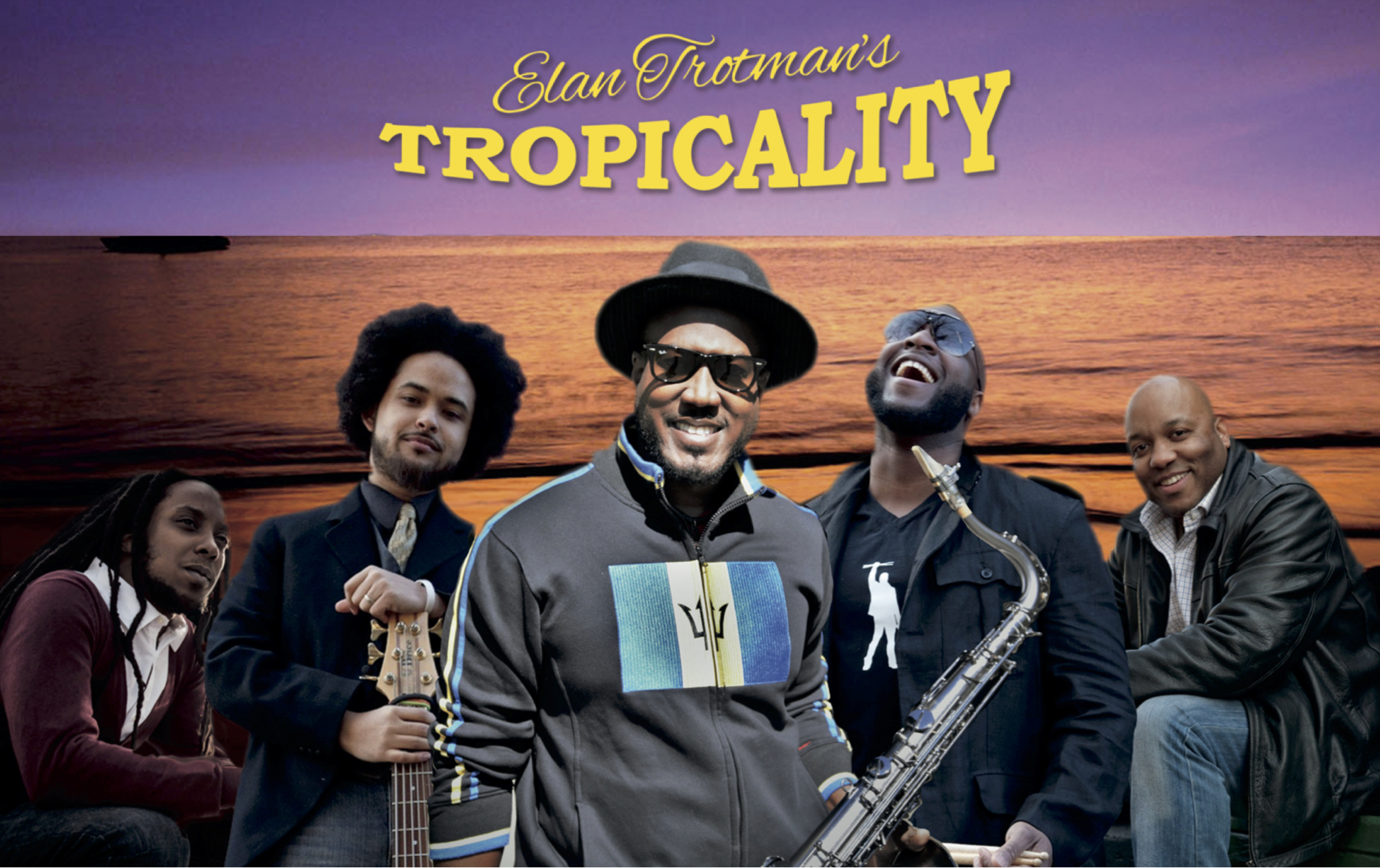 Elan Trotman's Tropicality Promo Photo